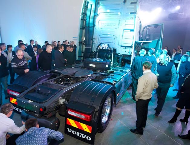 Новый Volvo FH в России