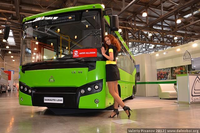 Автотранс 2012 премьера Samauto LE 60