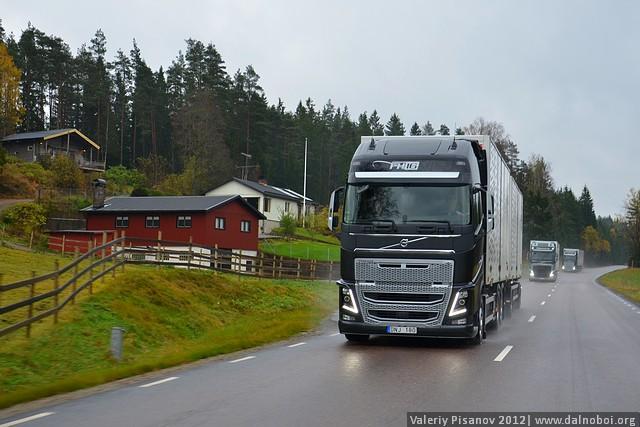 Тест-драйв нового Volvo FH