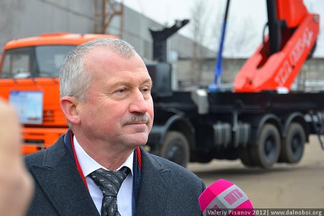 генеральный директор завода «Чайка-Сервис»  Ганин Евгений Федорович