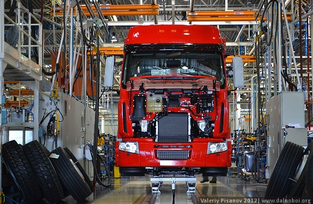 Renault Premium конвейер