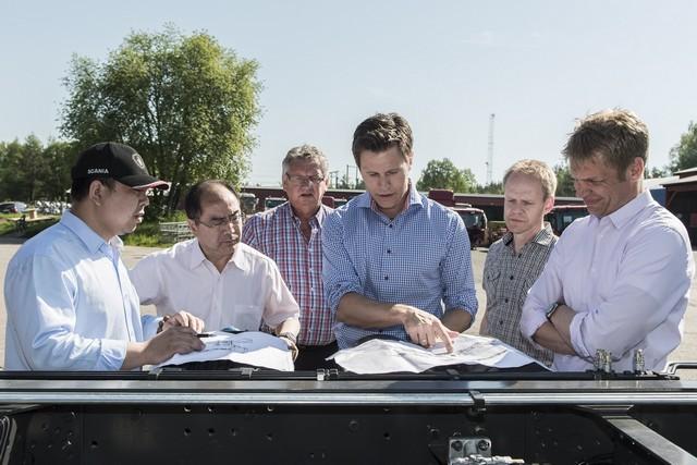 Автомобиль Scania попал в книгу рекордов Гиннесса