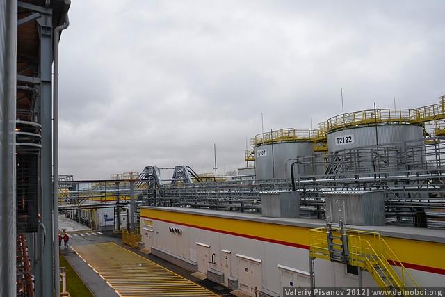 Завод Shell в России
