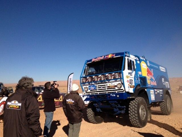 КАМАЗ Africa Race 2013