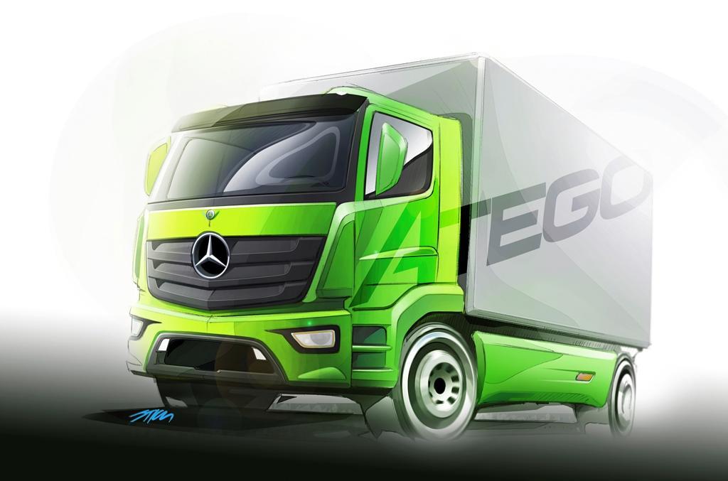 Новый Mercedes-Benz Atego