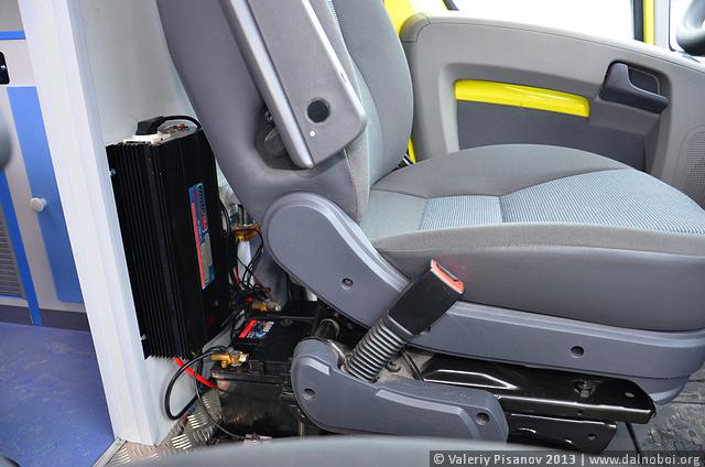 Модульная скорая помощь Peugeot Boxer