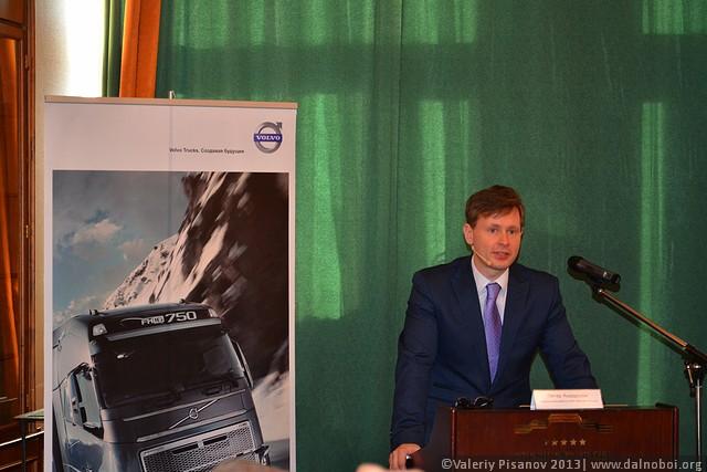 Oleg Vasilchenko ZAO Volvo Vostok PR Representative