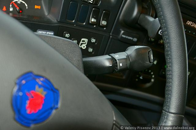 Тест-драйв Scania G440 Red Merlot