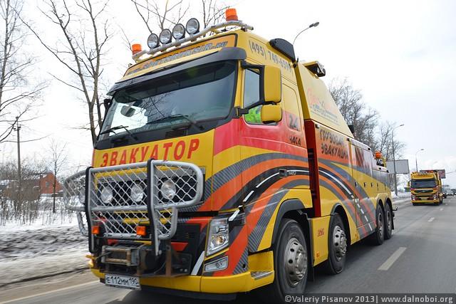 грузовая пресс-экспедиция Volvo и ООО «Спецбуксир»