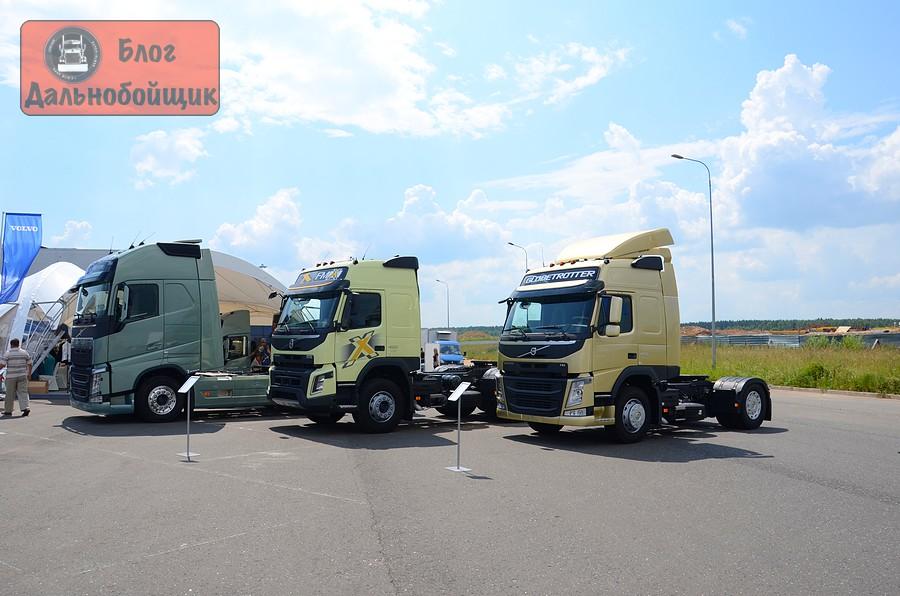 новые грузовики Volvo FH, Volvo FMX, Volvo FM