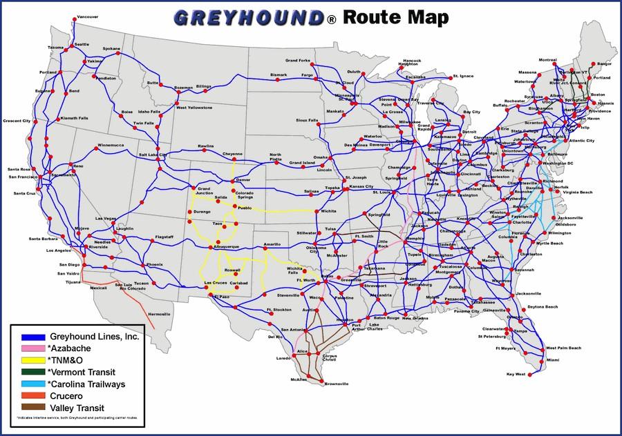 История компании Greyhound Lines