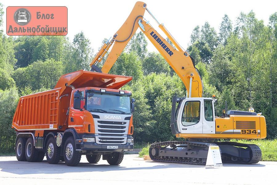 Карьерный самосвал Scania P420 CB8x4EHZ
