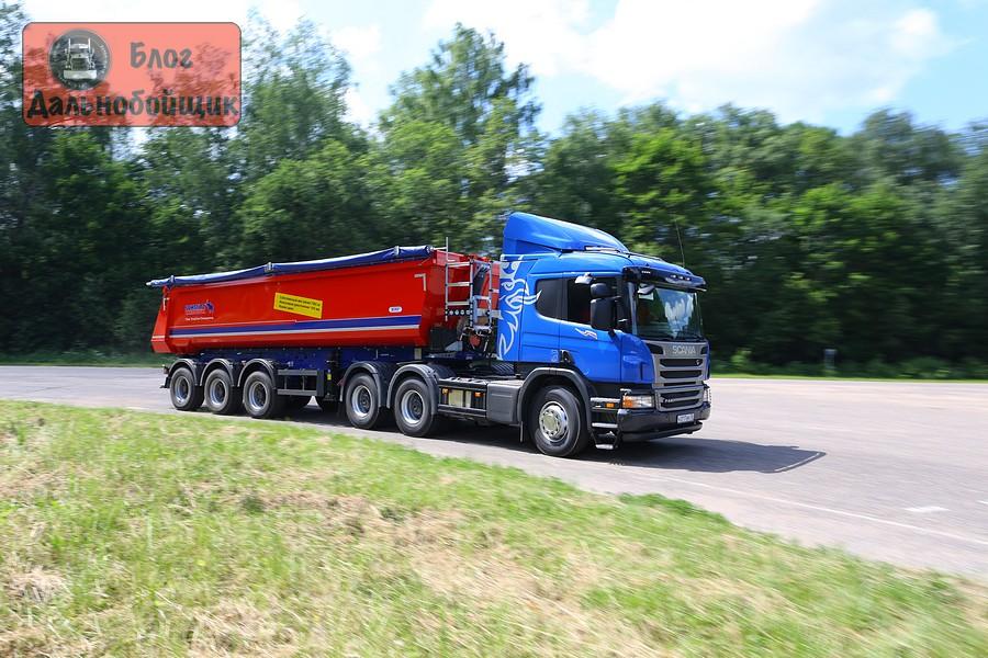 Седельный тягач Scania P400 6x4