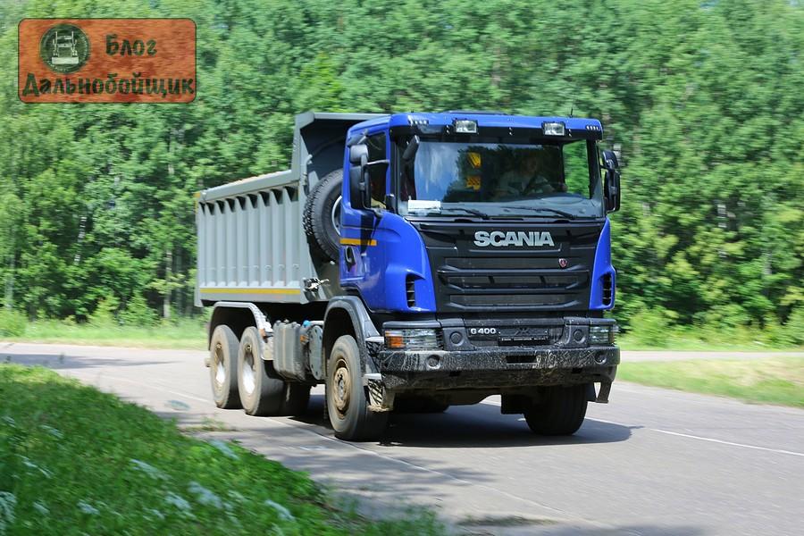 Самосвал Scania P400 CB6x4EHZ