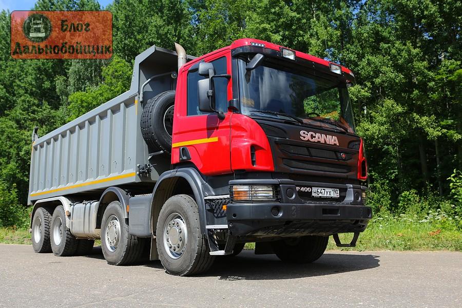 Самосвал Scania P400 CB8x4EHZ