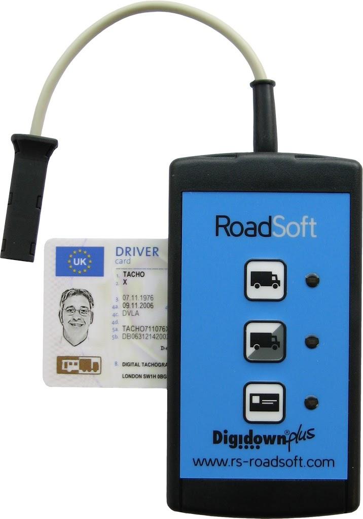 Устройство загрузки информации с тахографа и карты водителя