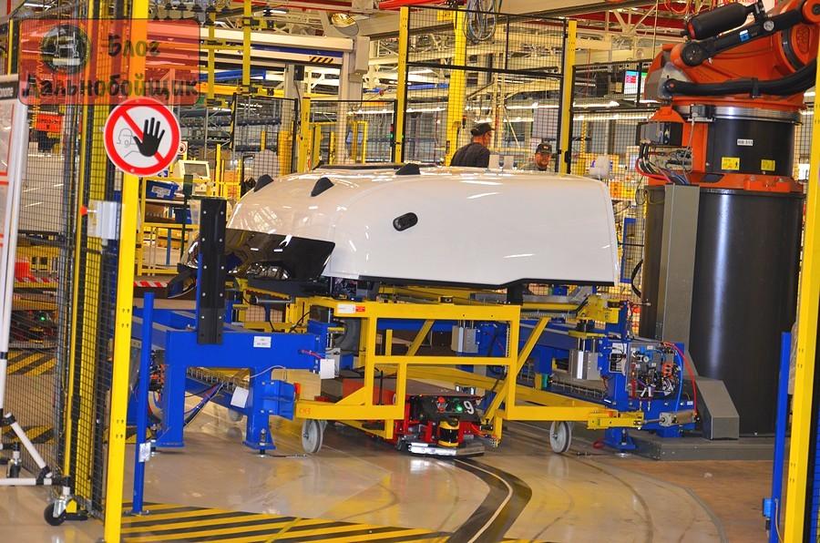 Завод Renault Trucks в Блейнвиле