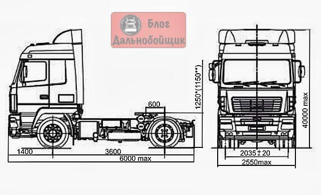 МАЗ-5440Е9 Простор