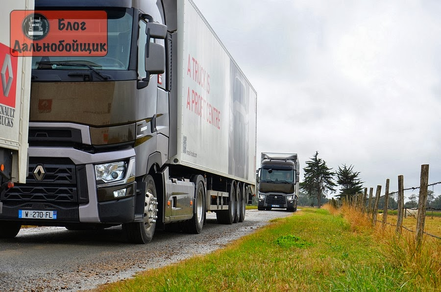 Тест-драйв: Renault Trucks T
