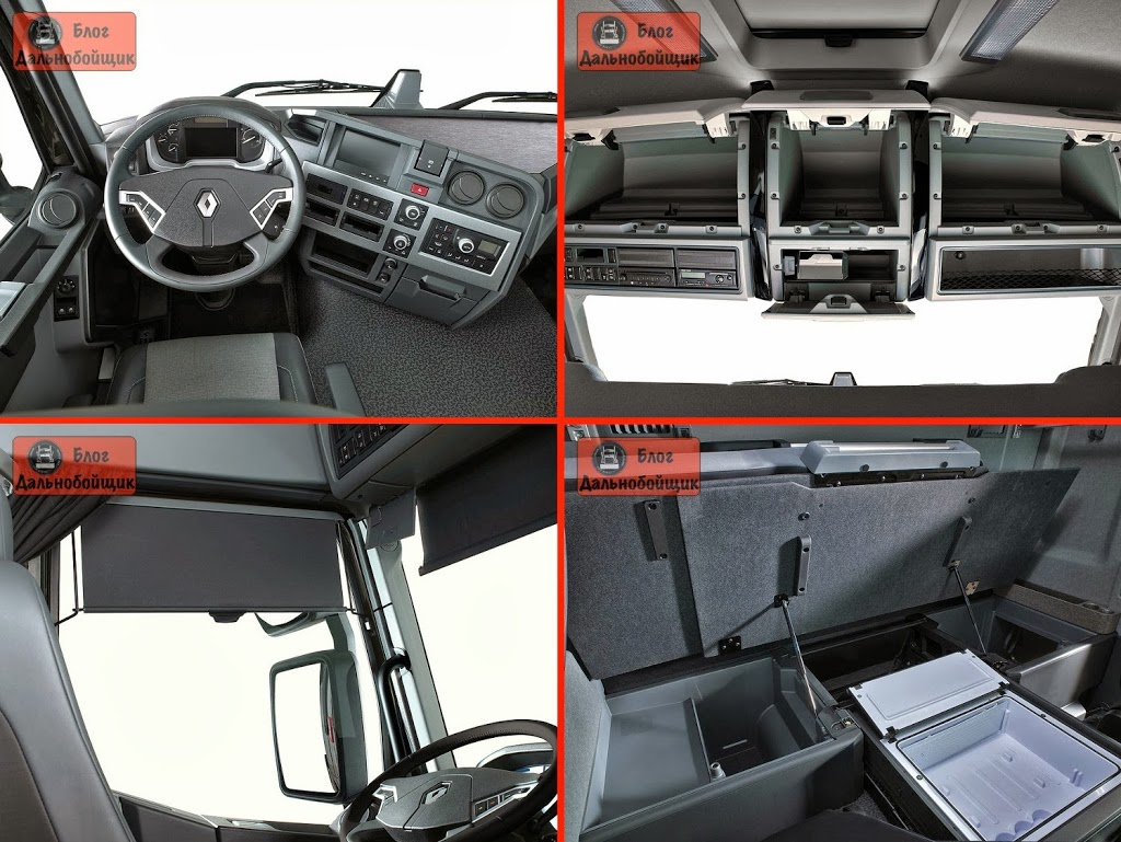 Кабина Renault Trucks T