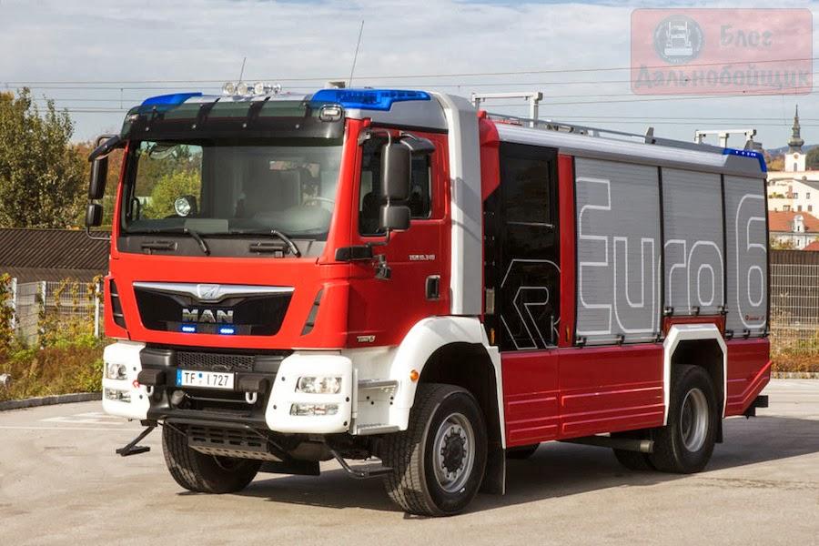 Пожарные машины MAN