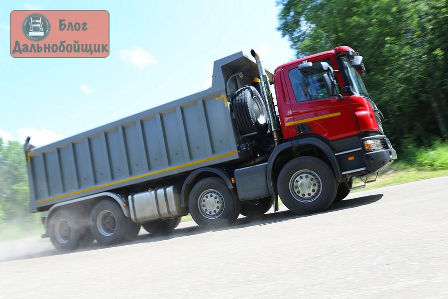 Тест-драйв строительной техники Scania