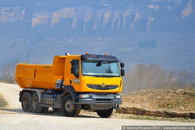 Constructions Days: тест-драйв Renault Kerax
