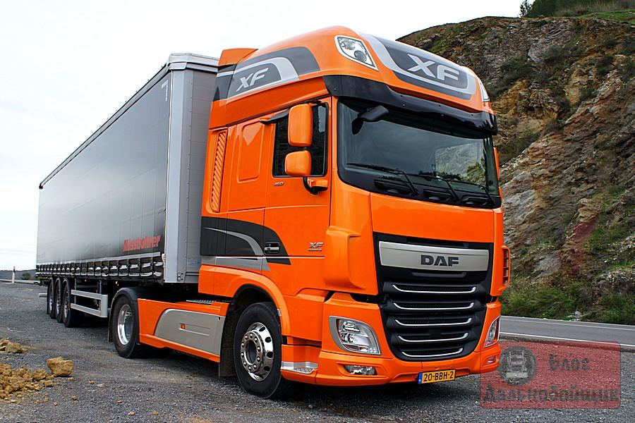 Тест-драйв: DAF XF Euro 6