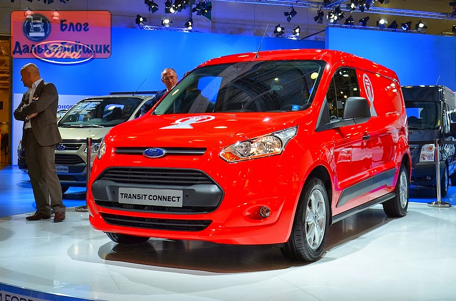 Новый Ford Transit Connect