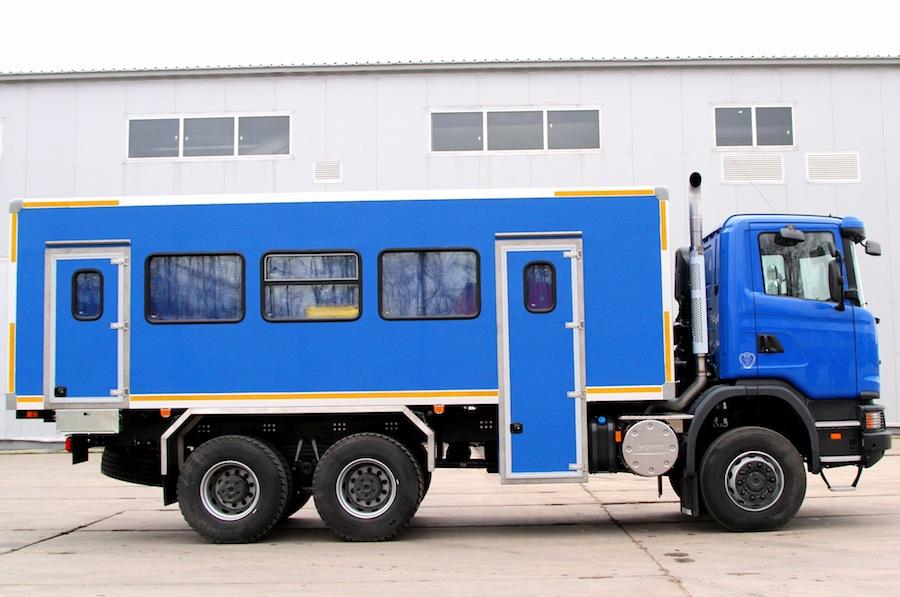 Вахтовый автобус Scania
