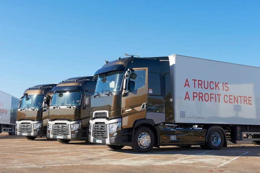 Конкурс экономичного вождения Renault Trucks