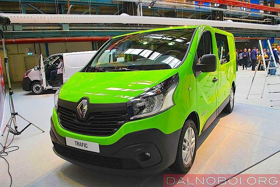 Европейская премьера Renault Trafic и Opel Vivaro