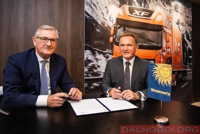 Компания Waberer's International заказала 1000 новых грузовиков DAF