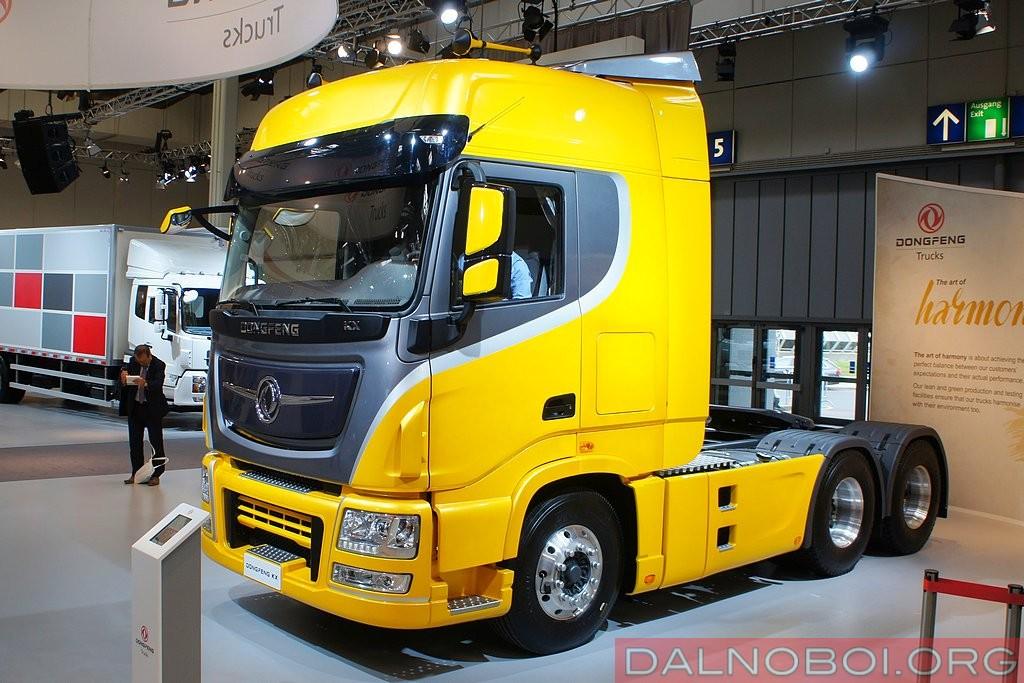 Dongfeng KX модели DFH4250C (6х4)