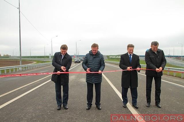 Открыта транспортная развязка в порт «Усть-Луга»_002