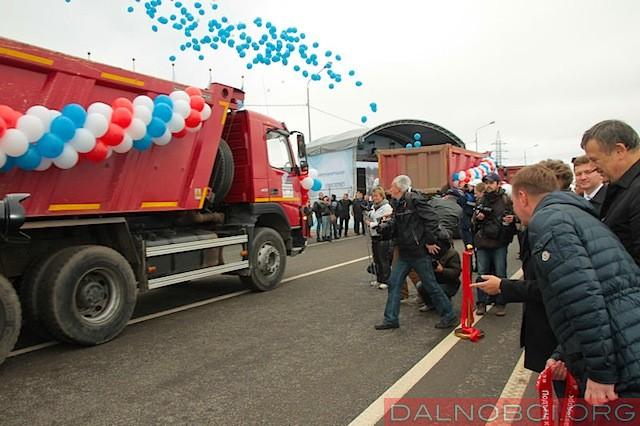 Открыта транспортная развязка в порт «Усть-Луга»_003