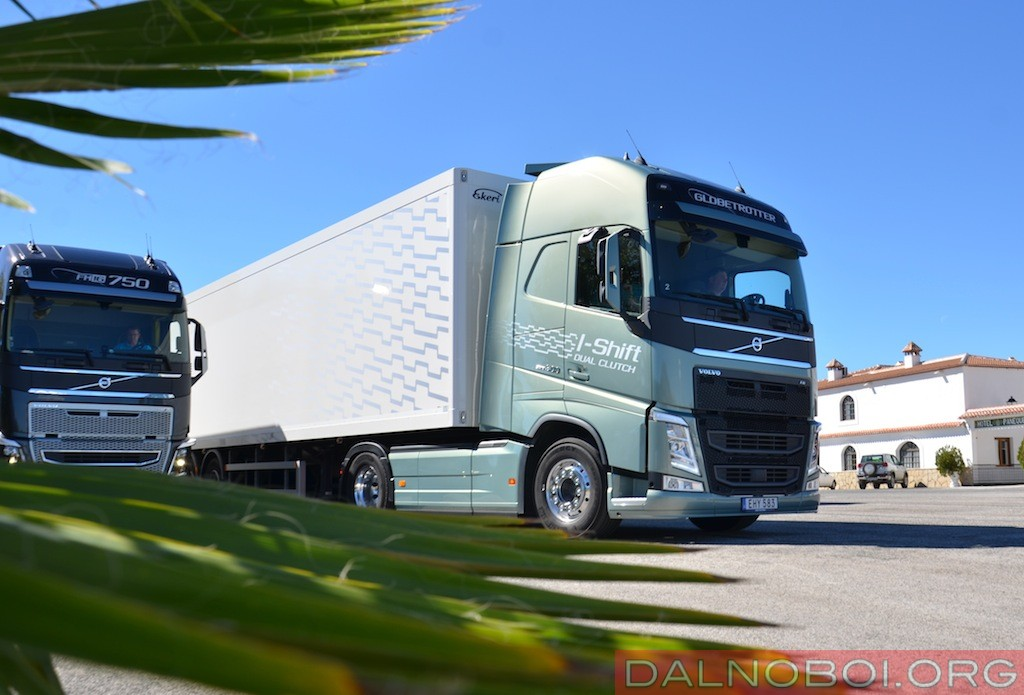 Тест-драйв Volvo FH с коробкой