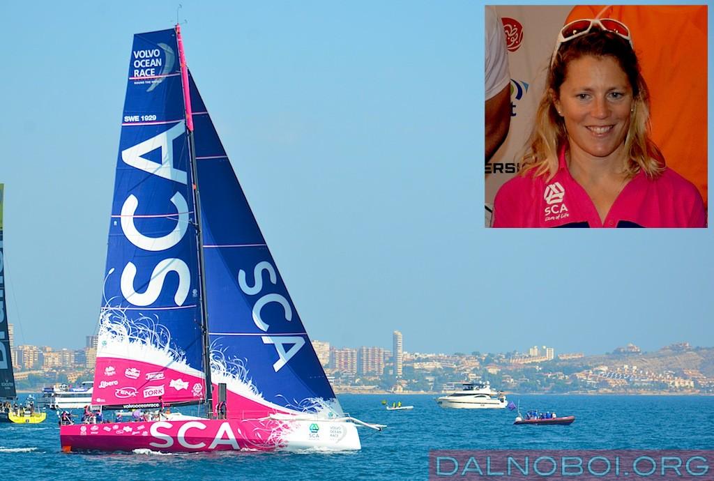 Volvo_Ocean_Race_2014_Team_SCA_Sam_Davies