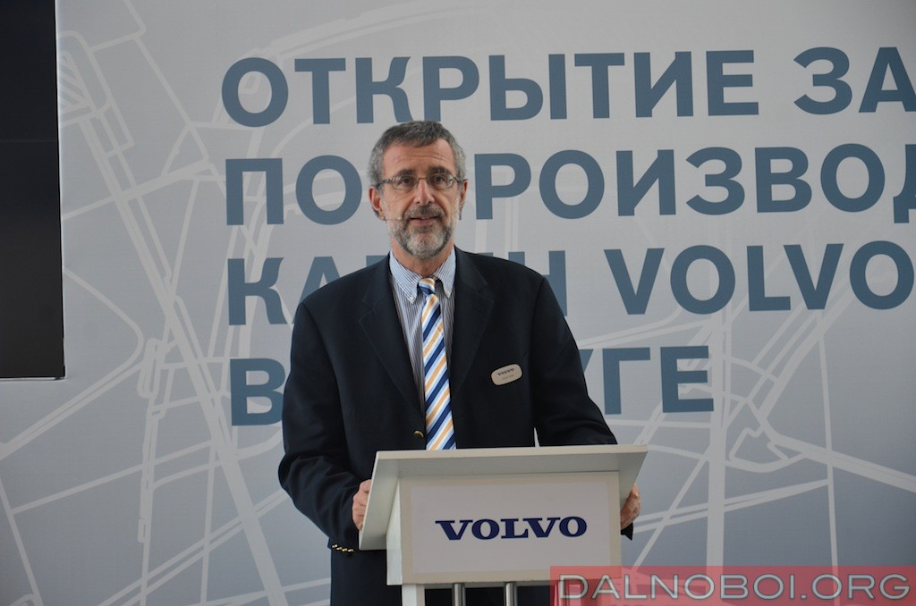 Оливье Видаль – Старший Вице-президент по производству Volvo Trucks Operation