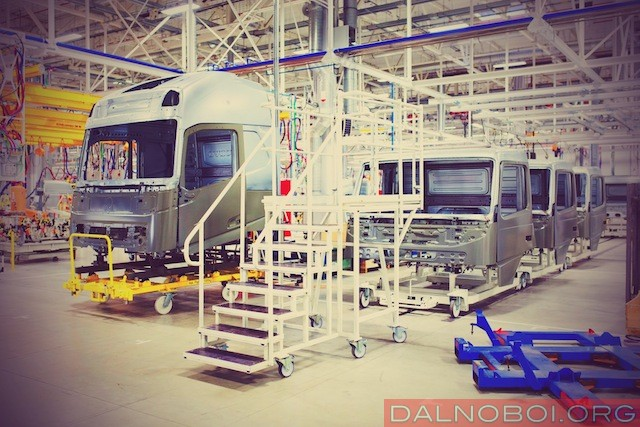 Видео экскурсия по заводу кабин Volvo в Калуге