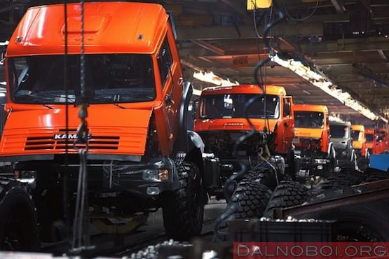Производство грузовиков в России ноябрь 2014