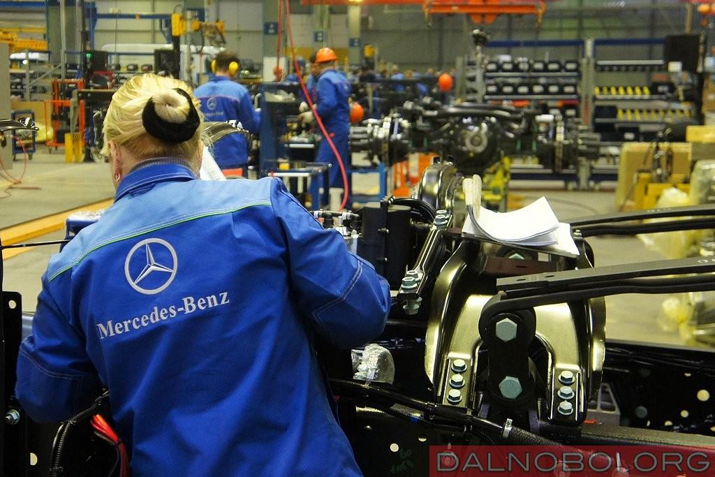 Фоторепортаж с завода «Мерседес-Бенц Тракс Восток» в Набережных Челнах