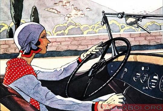 Дорога_женщина_автомобиль