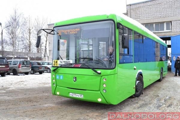 КАМАЗ поставил в Тверь 10 автобусов «НЕФАЗ»