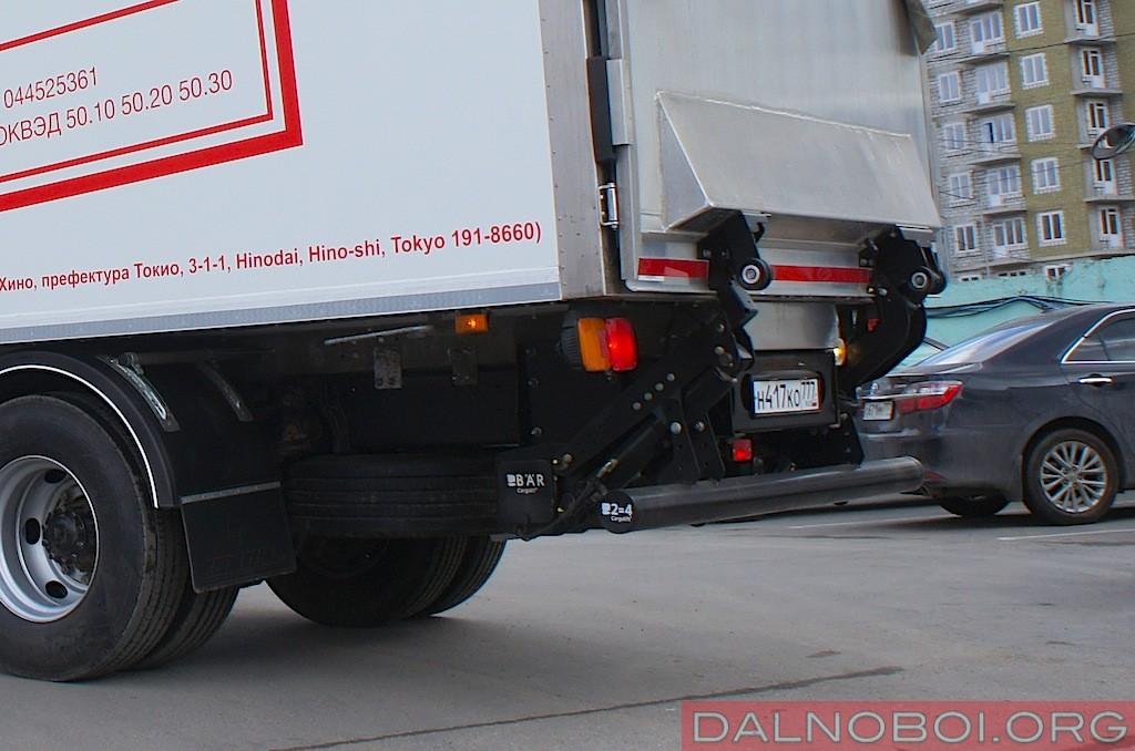 автофургон ford cargoвысота фаркопа