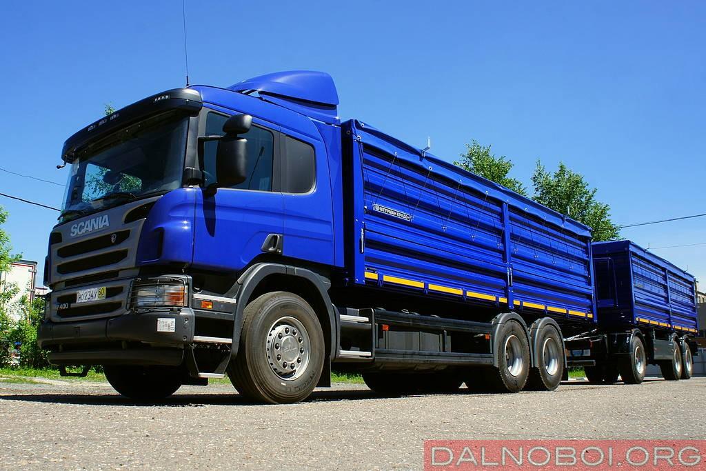 Зерновозы Scania