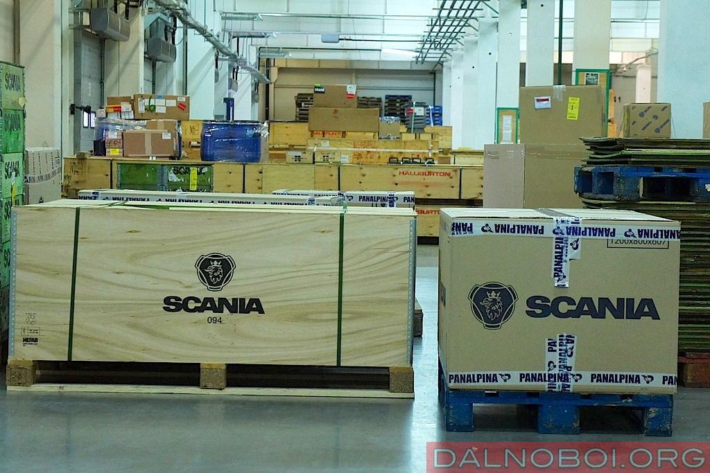 Запчасти Scania из Крекшино