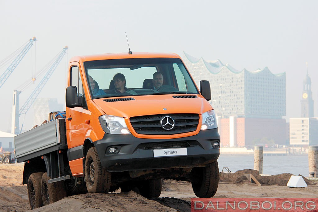 DALNOBOI.ORG | Mercedes Benz Sprinter 6×6