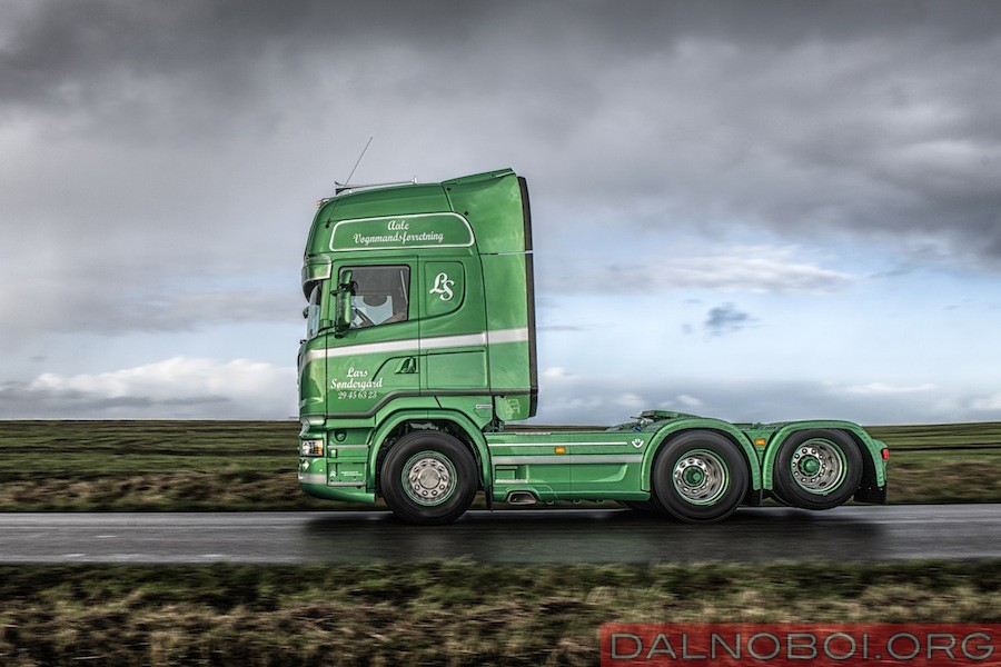 Young European Truck Driver 2015