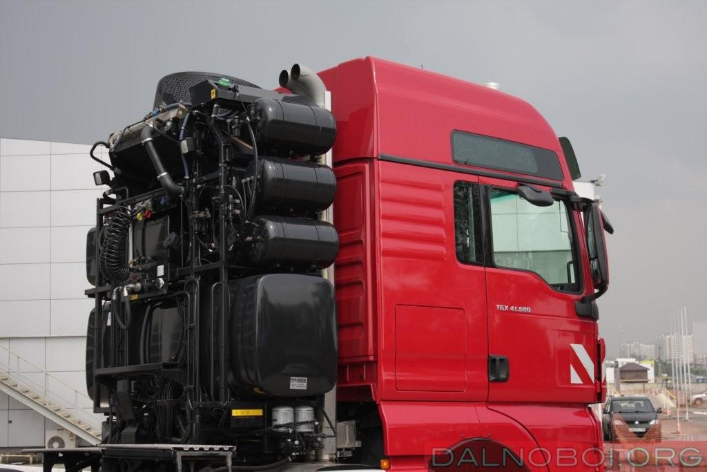 2016 MAN TGX 41.680 8x6 BBS 250 tonn